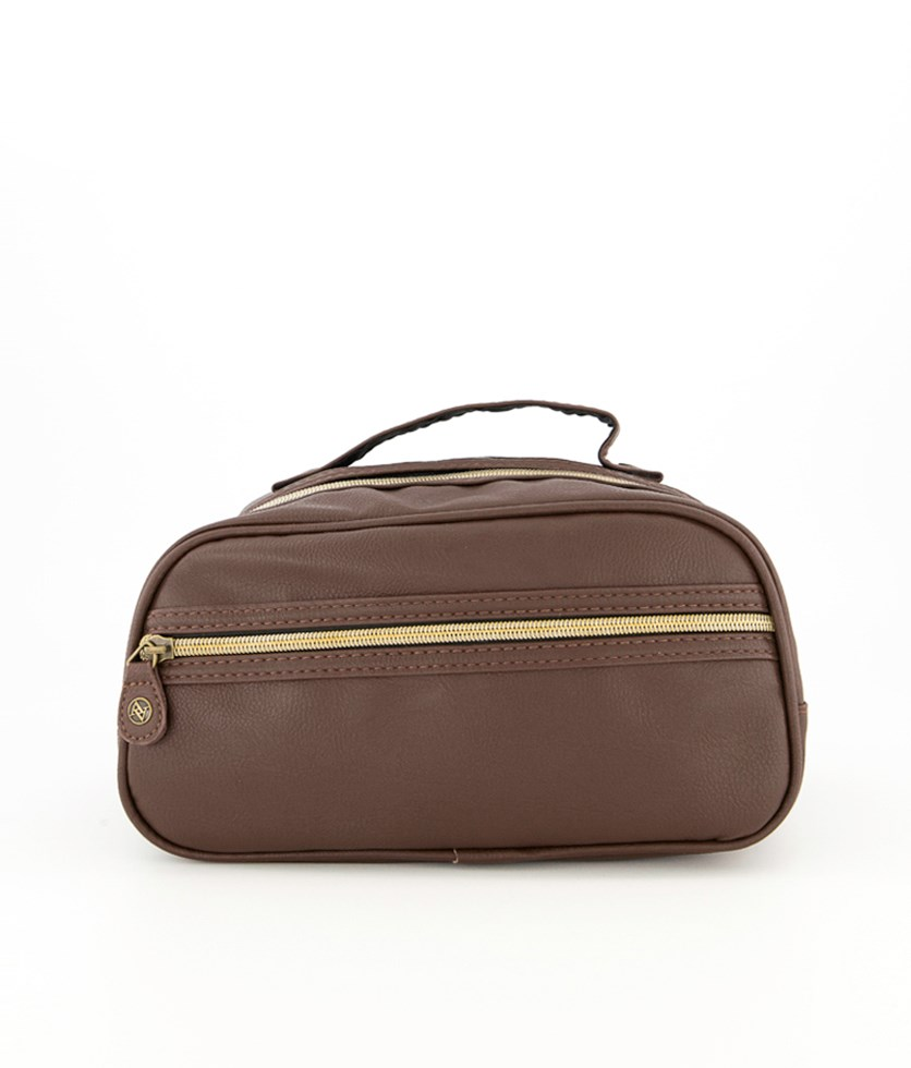 Women's Large Travel Case, Brown