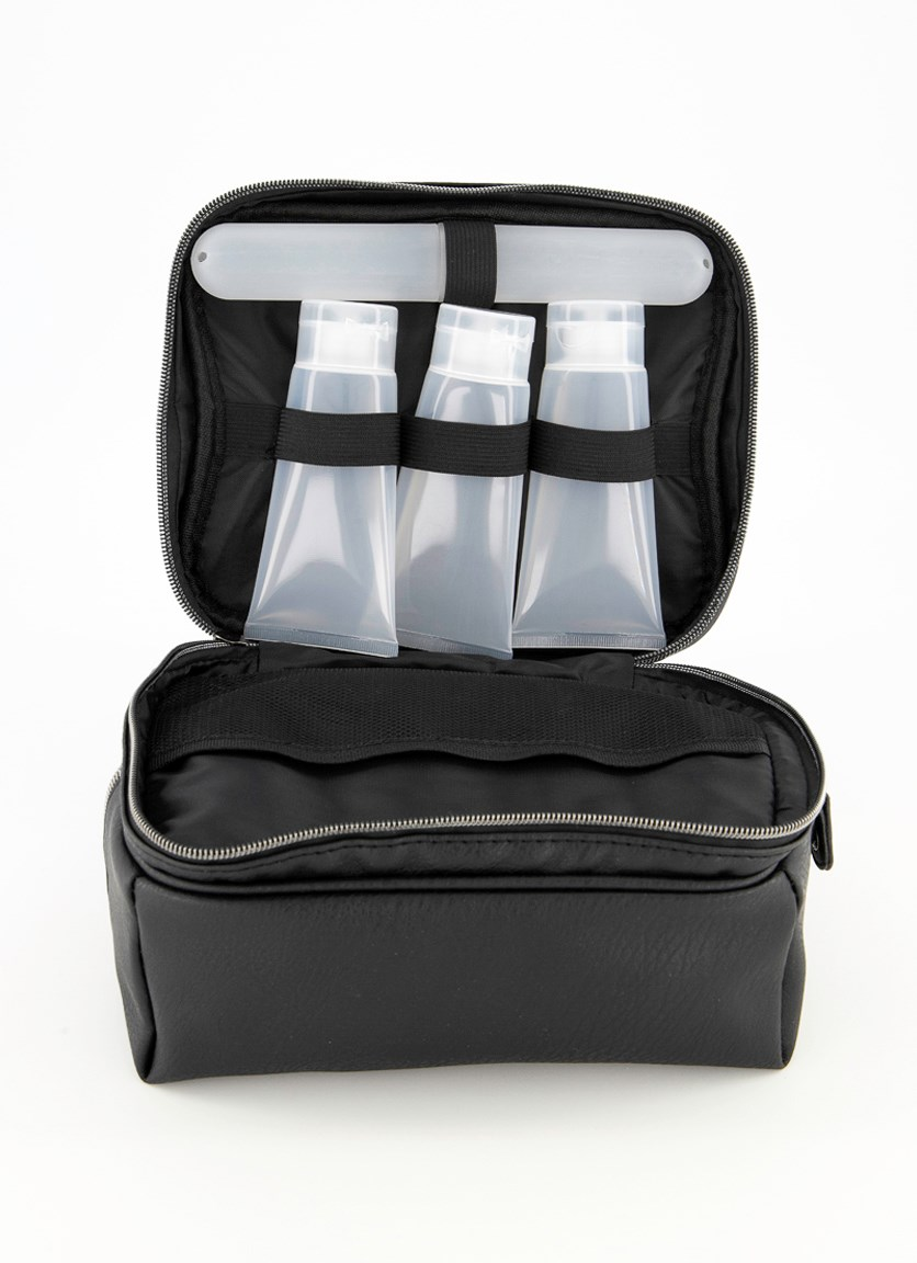 Travel Dopp Kit, Black