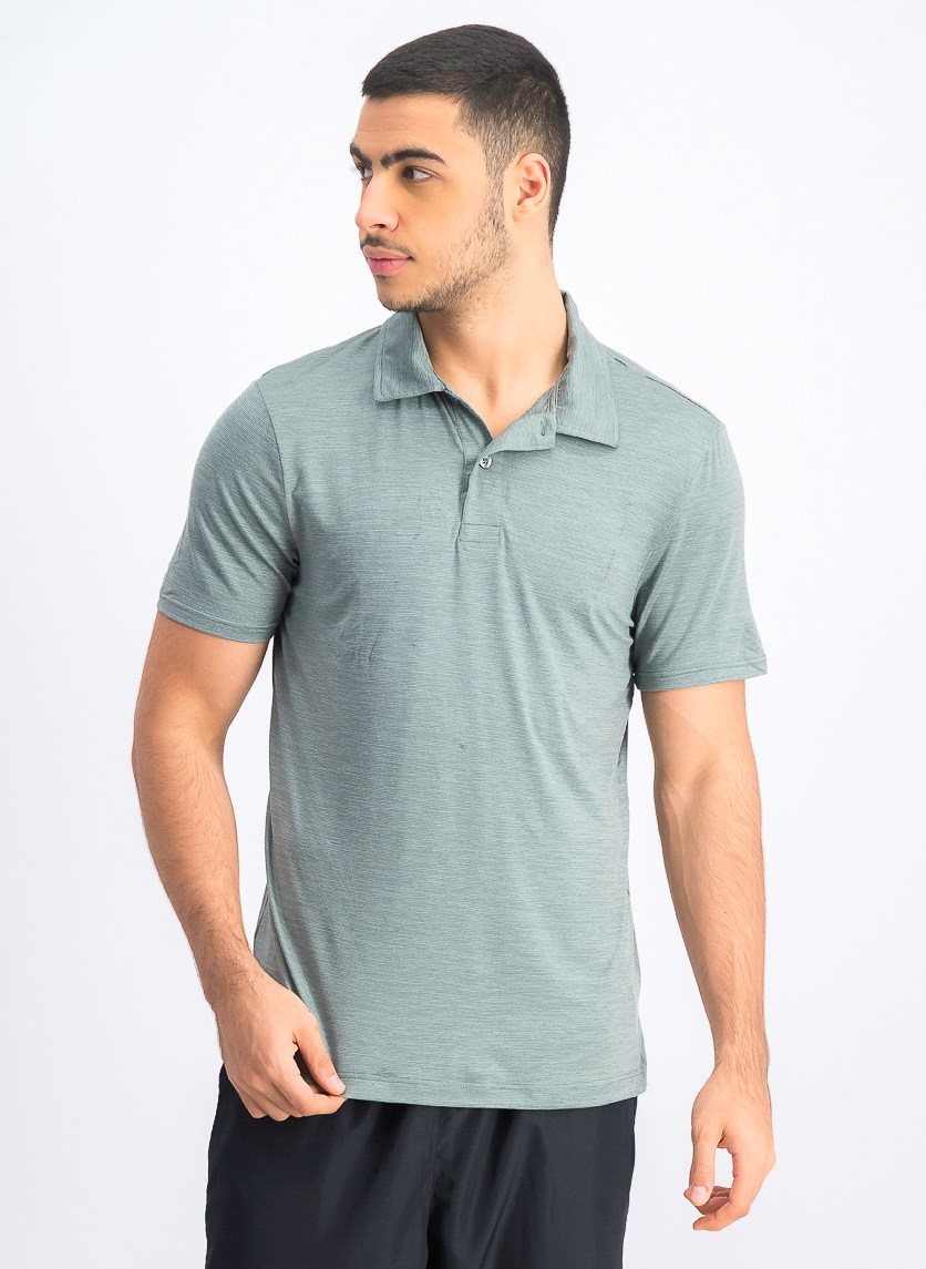 Men's Light Weight Performance Polo Shirt, Olive