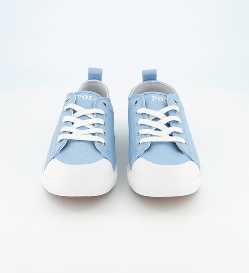 Girl's Kingsley Shoes, Blue Shimmer