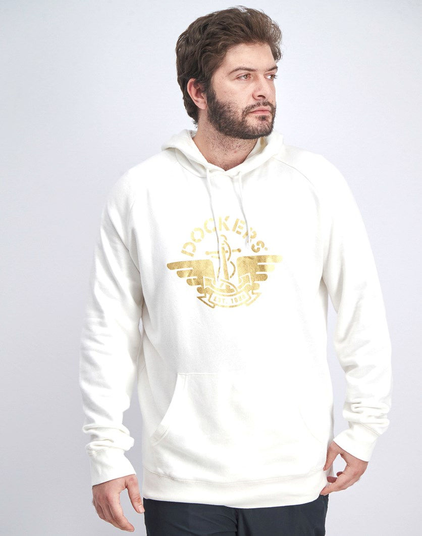 Men's Hoodie Sweatshirt, Off White