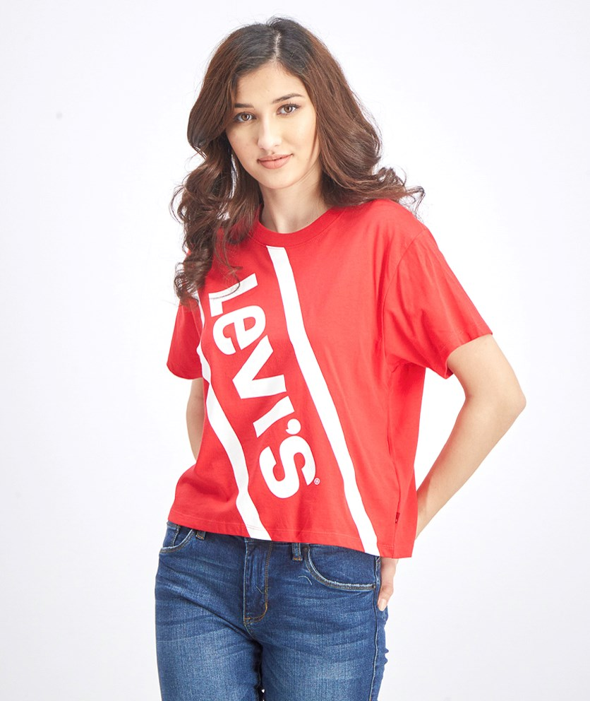 Women's Graphic Tops, Red
