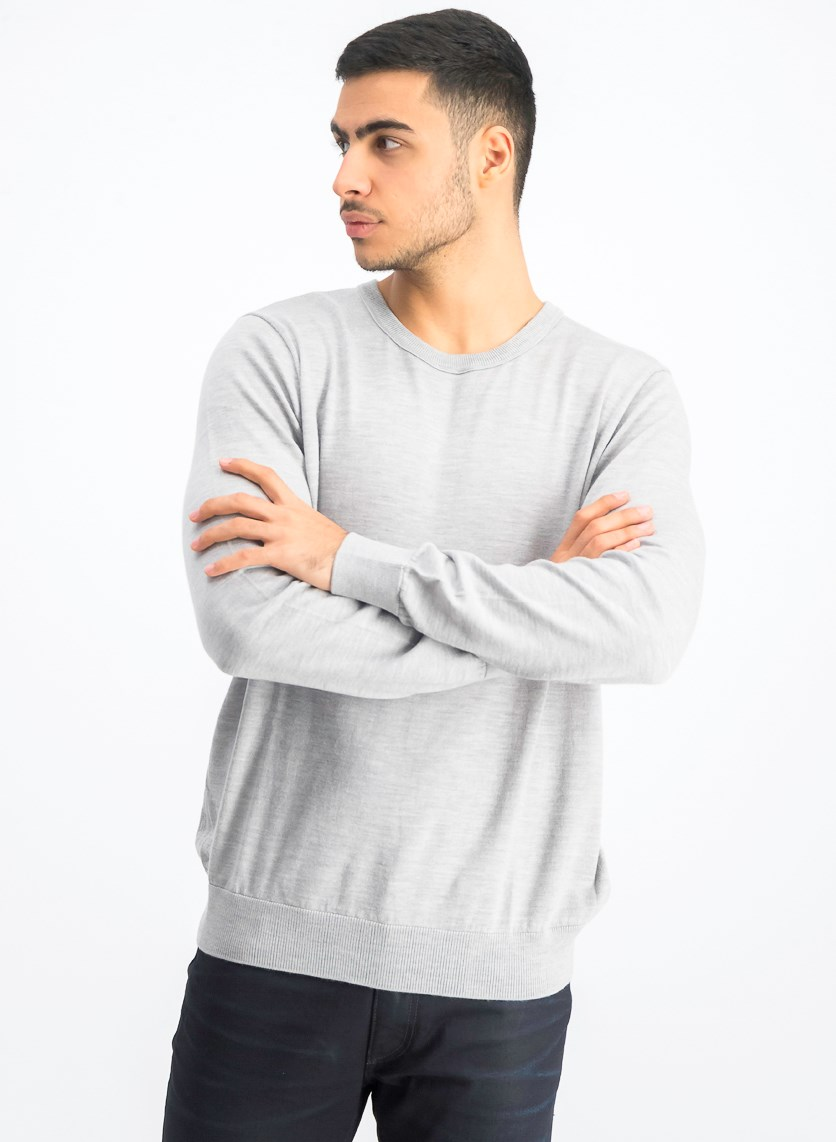 Men's Long Sleeve Shirt, Grey