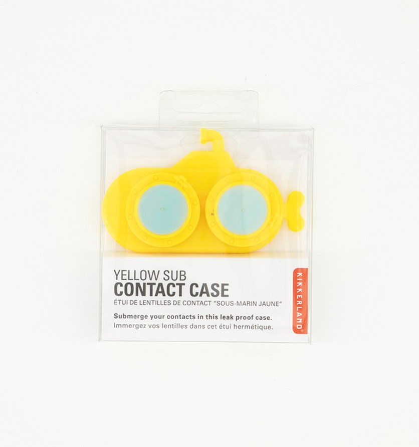 Contact Case, Yellow