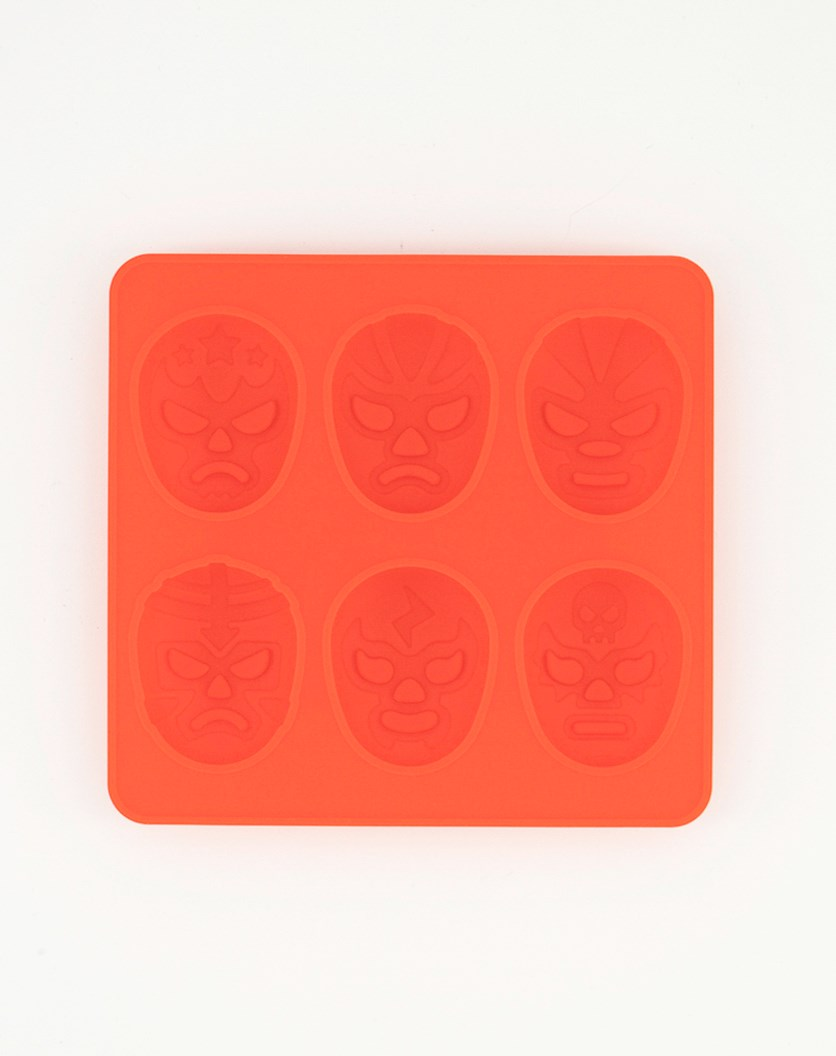 Luchador Ice Tray, Red