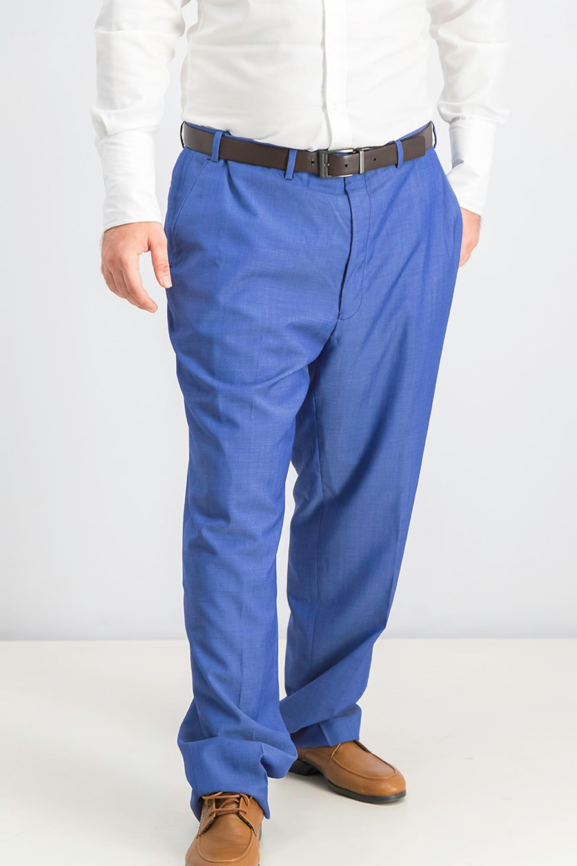 Big & Tall Pants, Medium Blue
