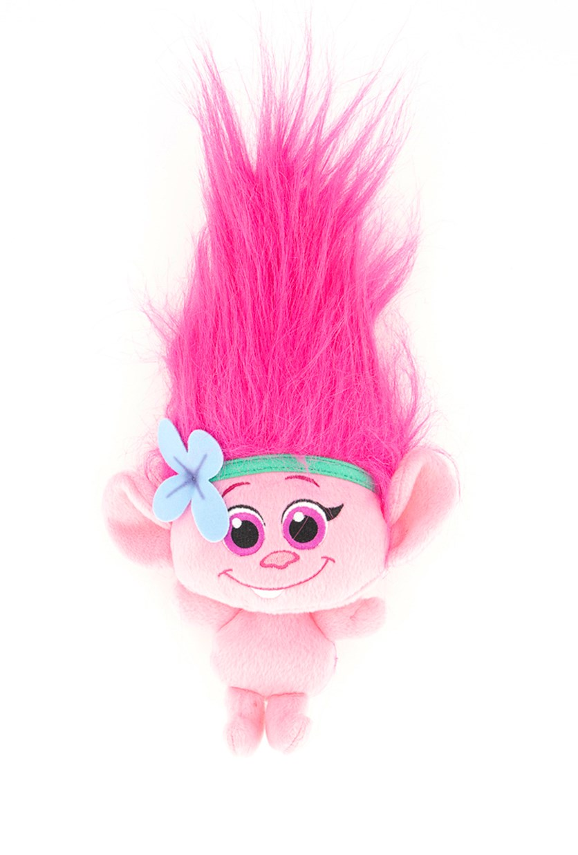 Trolls Dream Works Baby Poppy Hug 'N Plush Doll, Pink