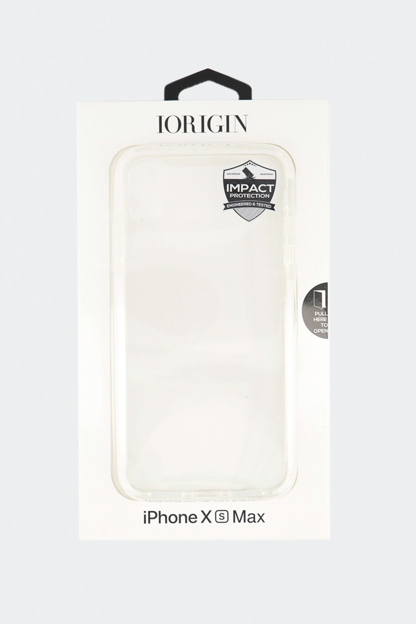 iPhone Xs Max Hard Case, Clear