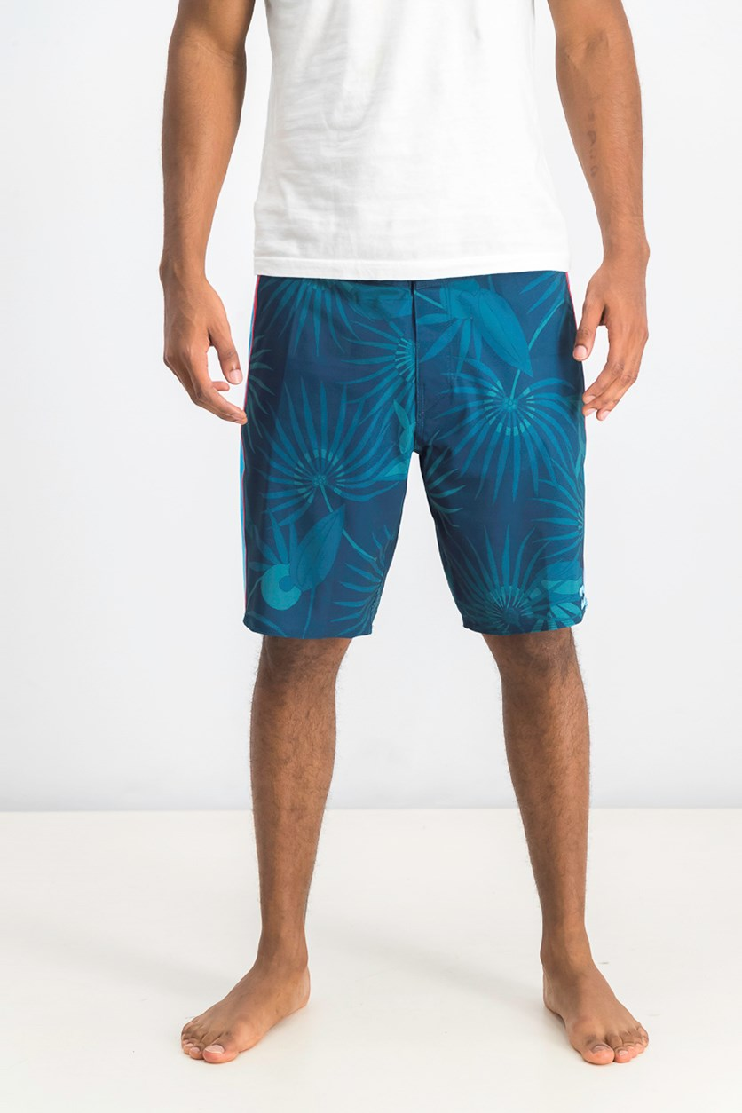 Men's Airlite Board Shorts, Teal Blue