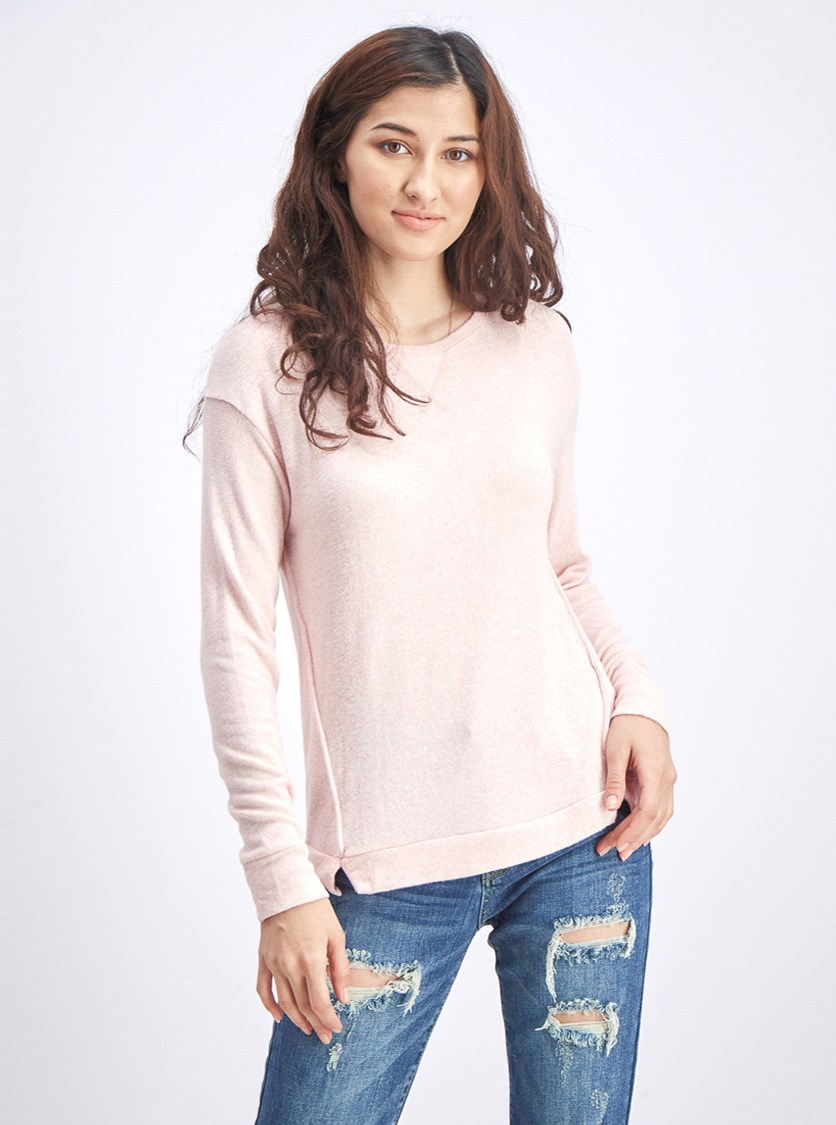 Women's Pullover Sweater, Pink