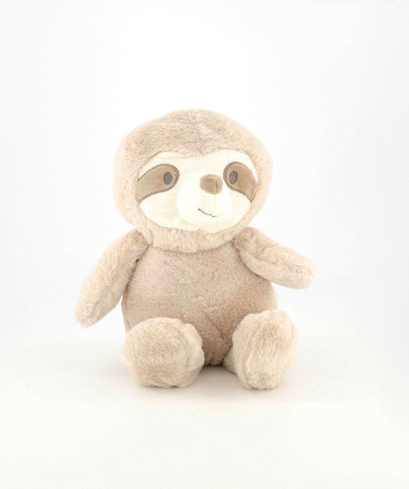 Cuddle Baby Sloth With Crinkles Ears And Rattles, Tan