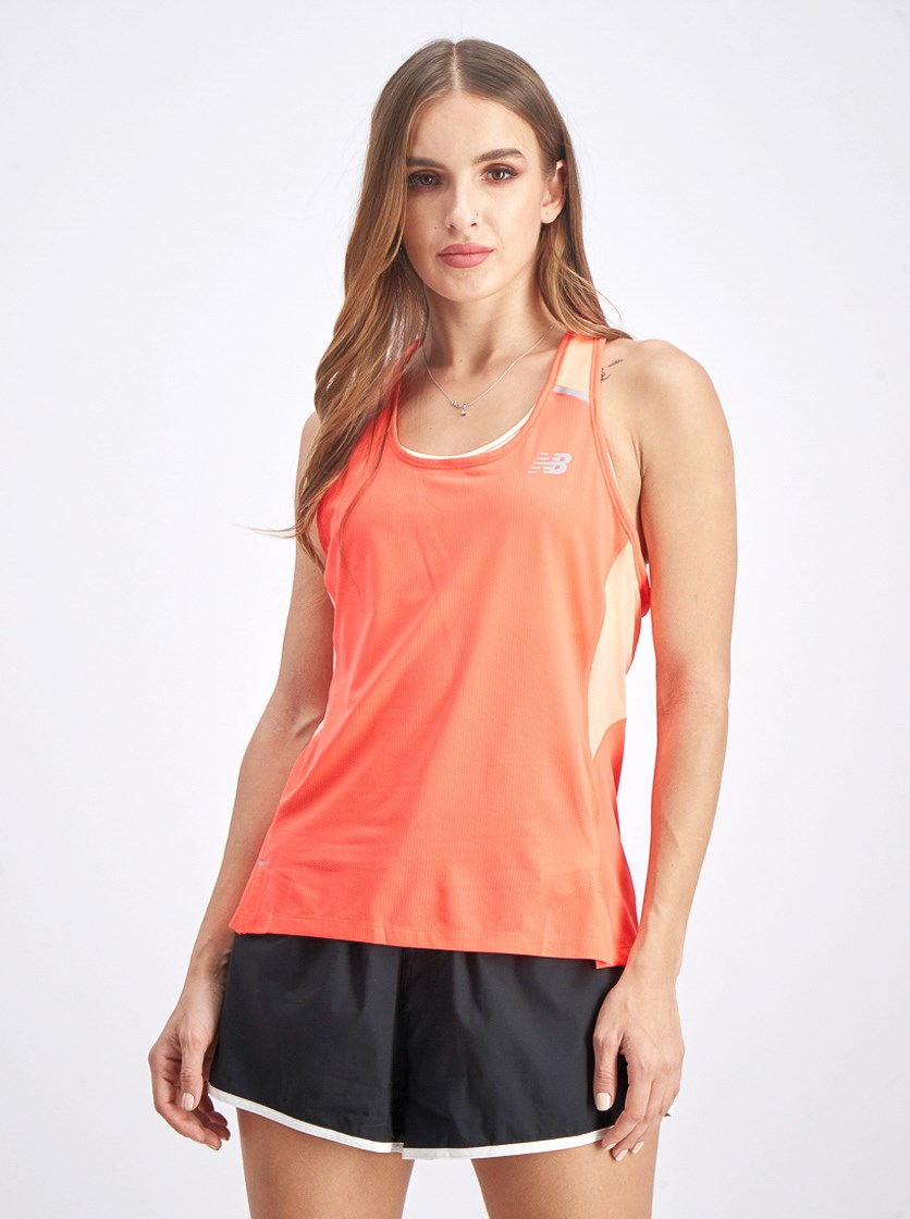 Women's Ice Tank Top, Neon Pink