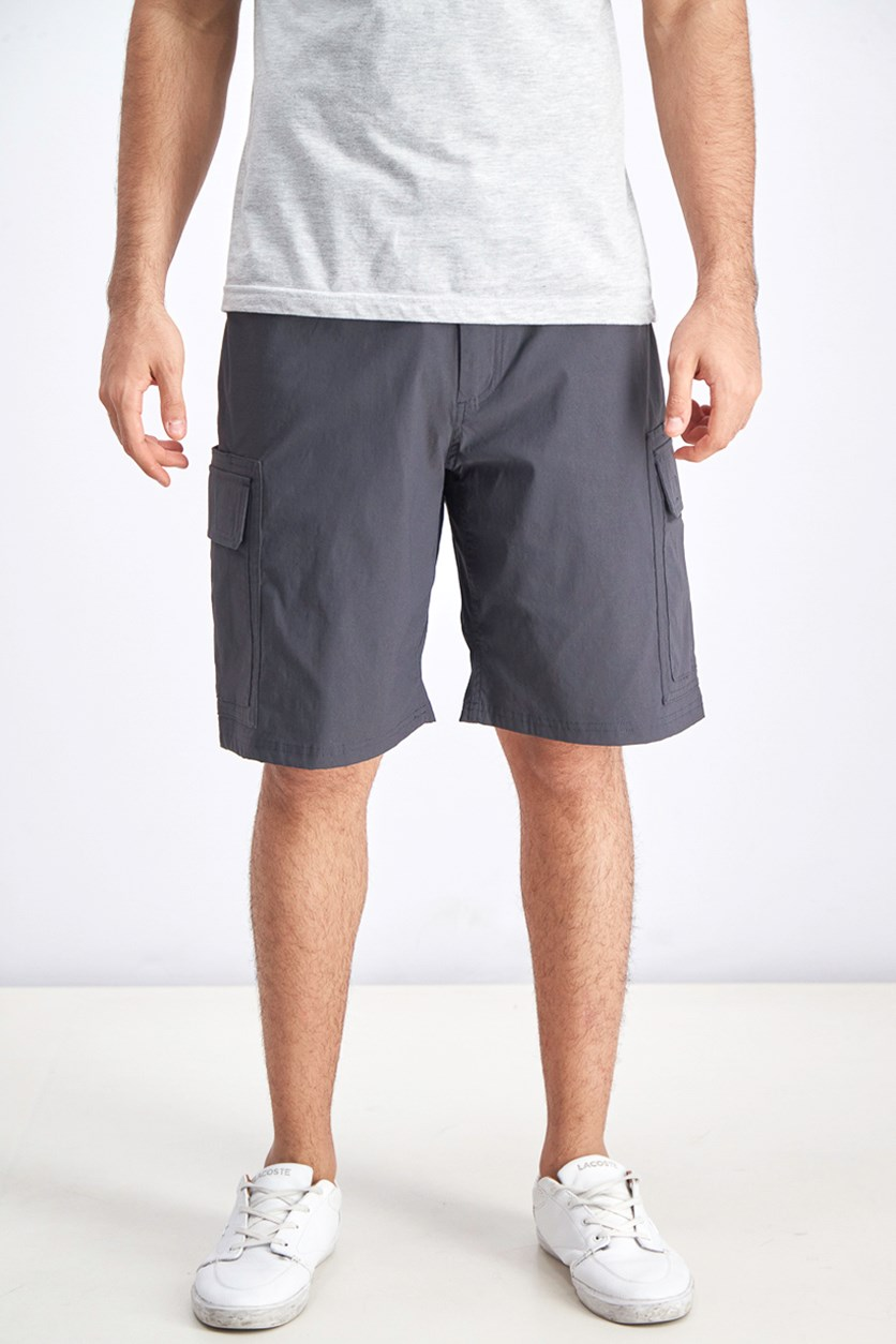 Men's Adventure Trek Shorts, Dark Charcoal