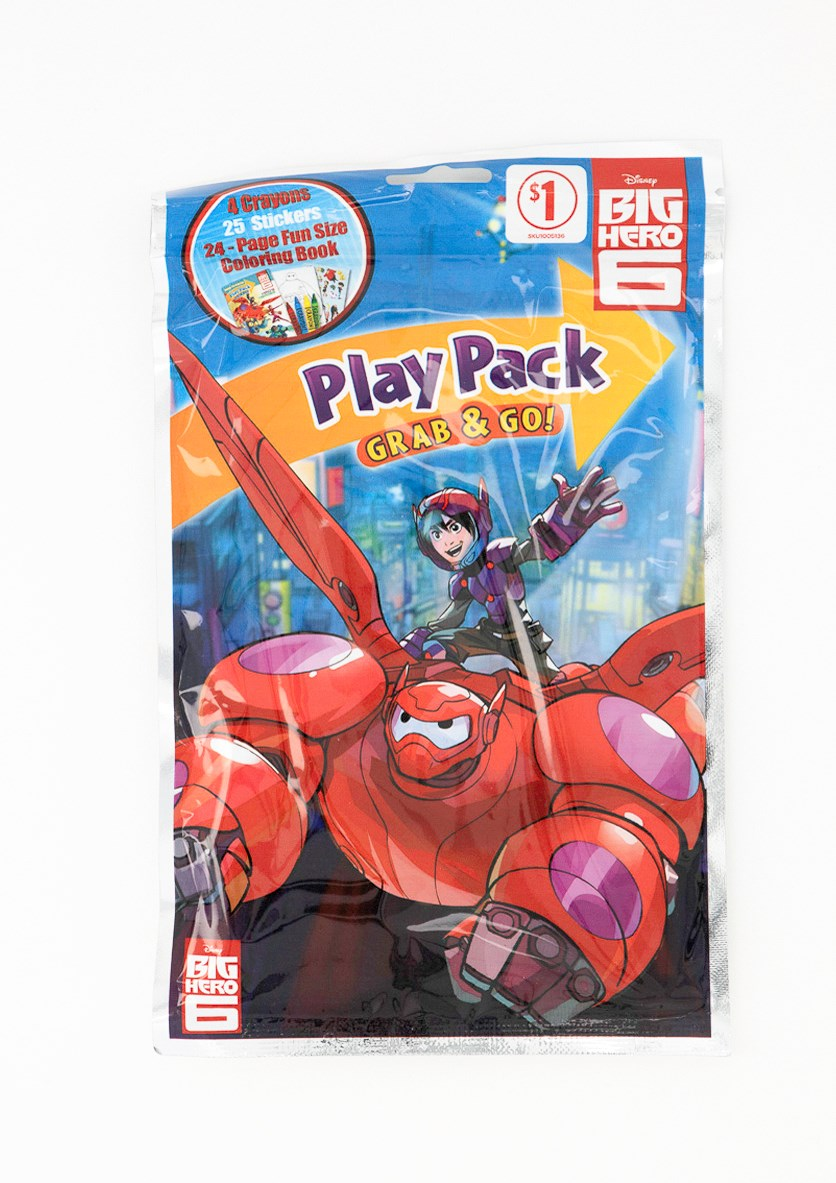 Grab and Go Play Pack, Red