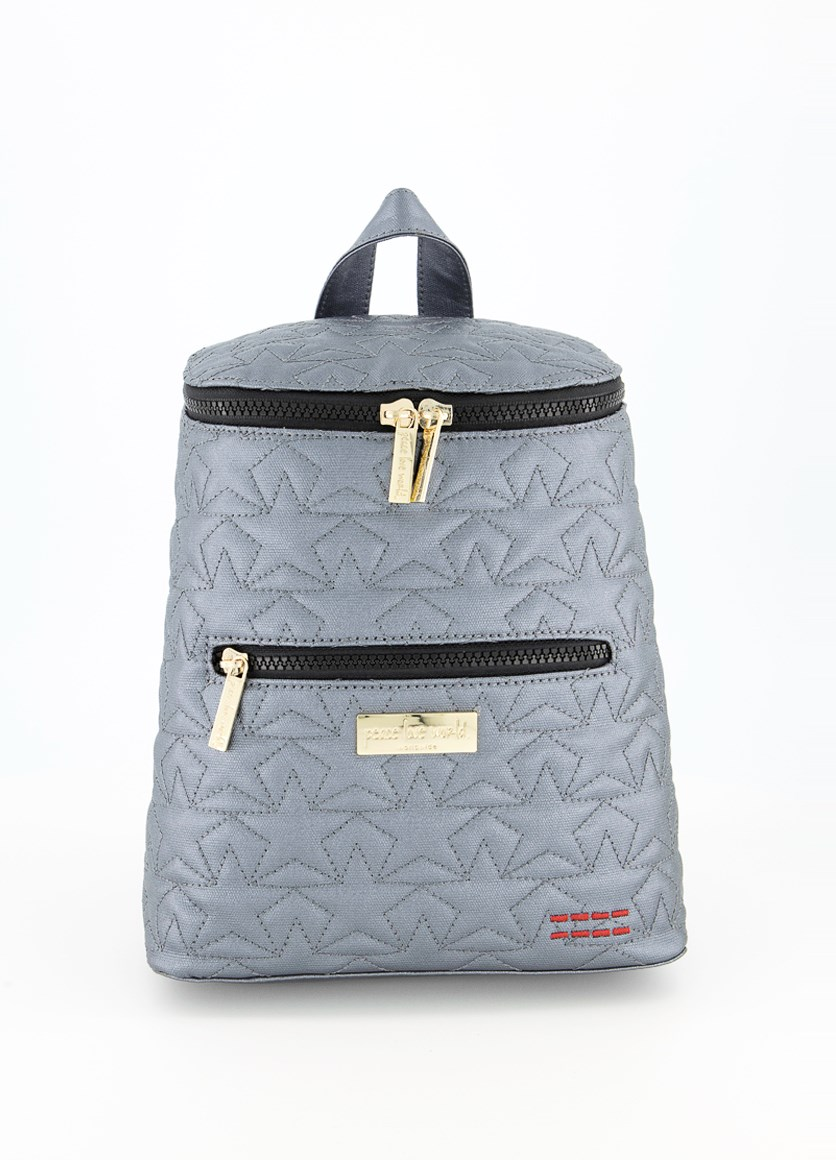 Women's Small Back Pack, Pewter