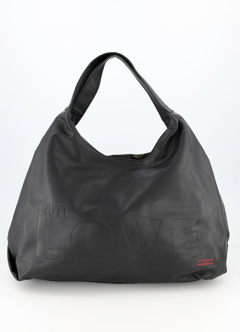 Women's Slouchy Bag, Black