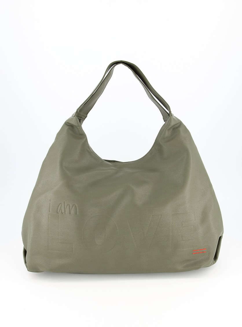Women's Satchels Bags, Army Green