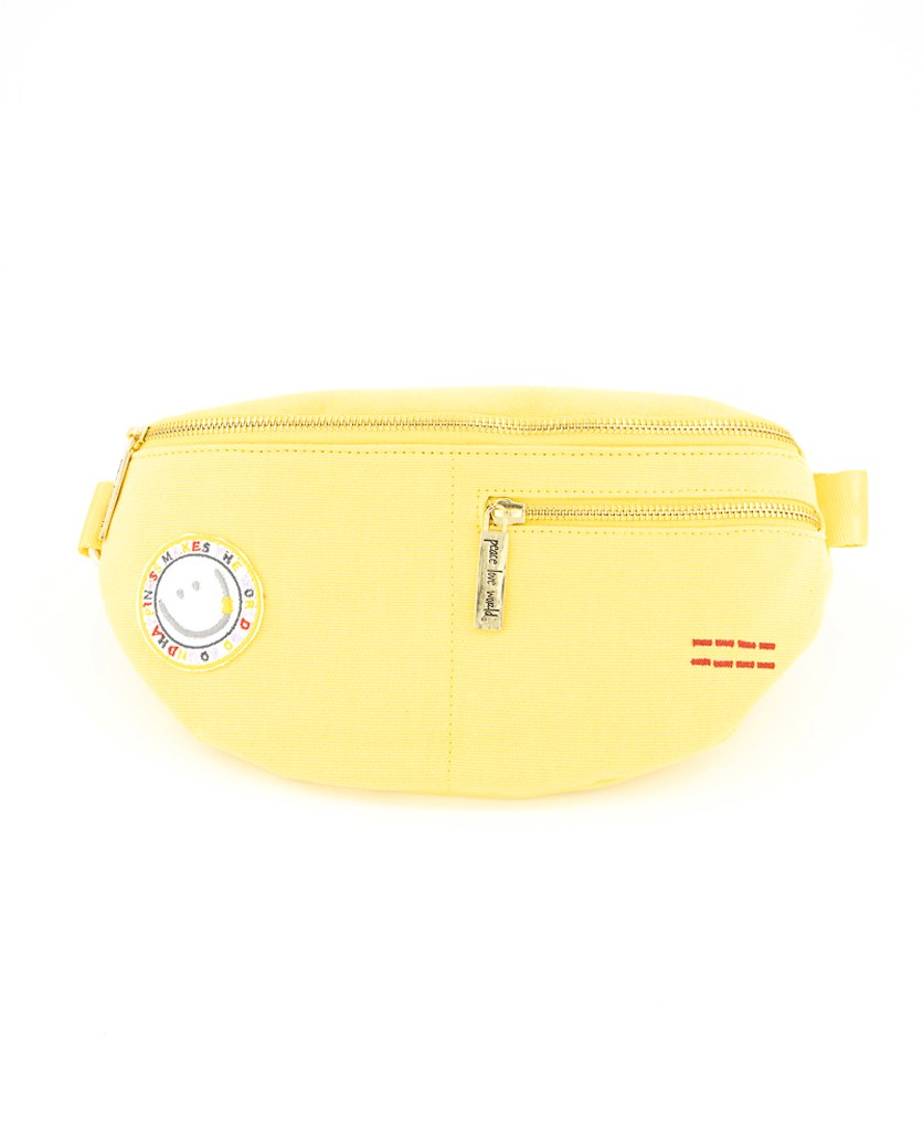 Women's Belt Bag, Yellow