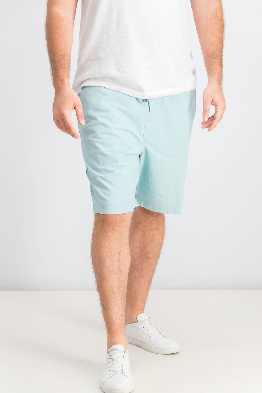 Men's Stretch Larry Shorts, Aqua Blue