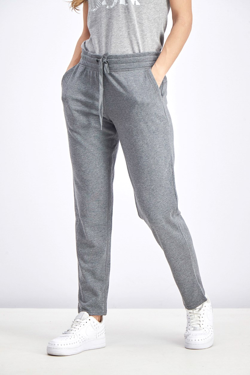 Women's French Terry Pants, Grey
