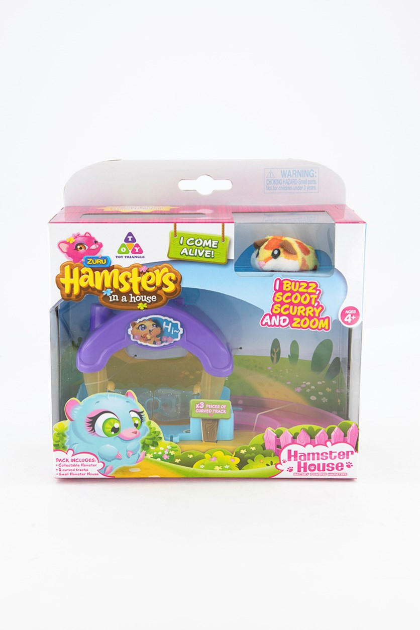 Hamster Sunny In A House Playset, Purple Combo
