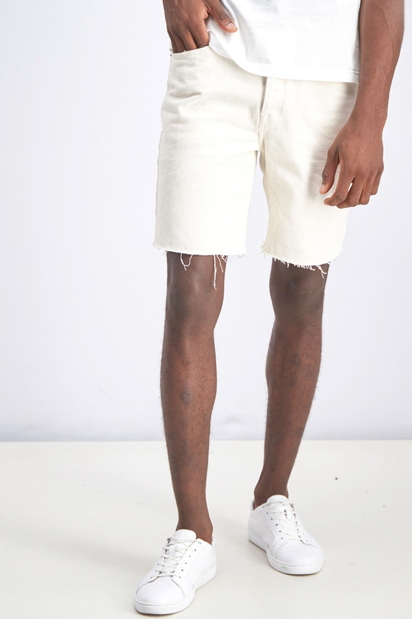 Men's Slim fit Bermuda Shorts, Cream