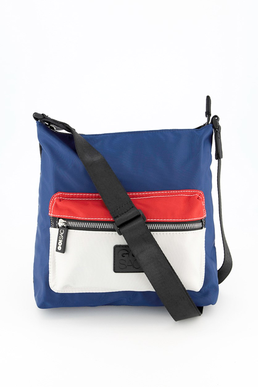 Women's Callie Crossbody Bag, Navy/Black/Red/White