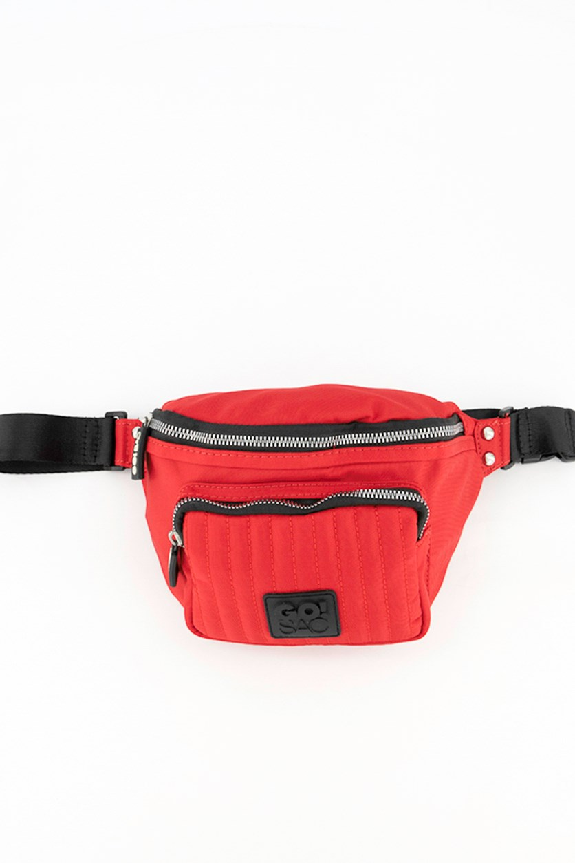 Women's Ayla Belt Bag, Red