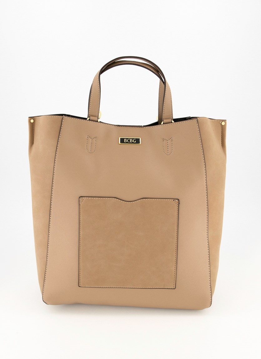 Women's Carla  Tote Bag, Taupe