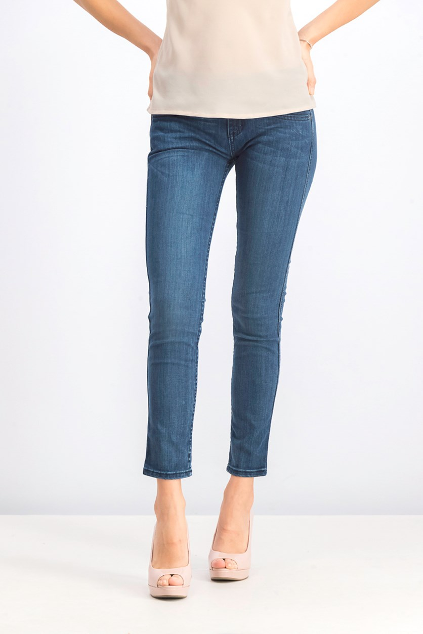 Women's Later Skinny Jeans, Blue