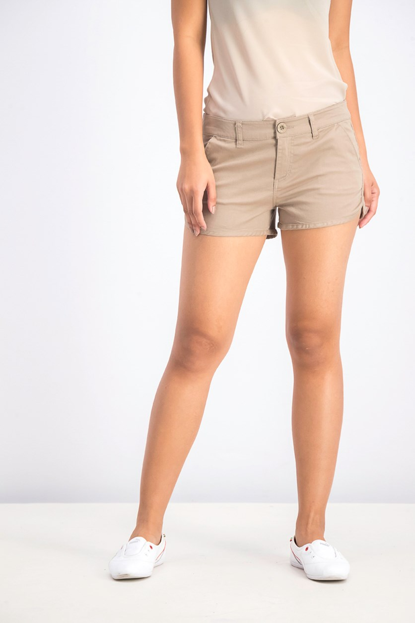 Women's Short, Dark Khaki