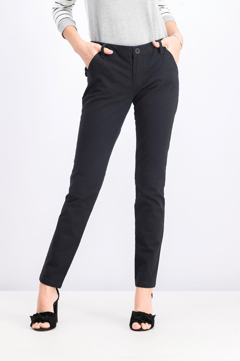 Women's Uplanded Chino Pants, Black