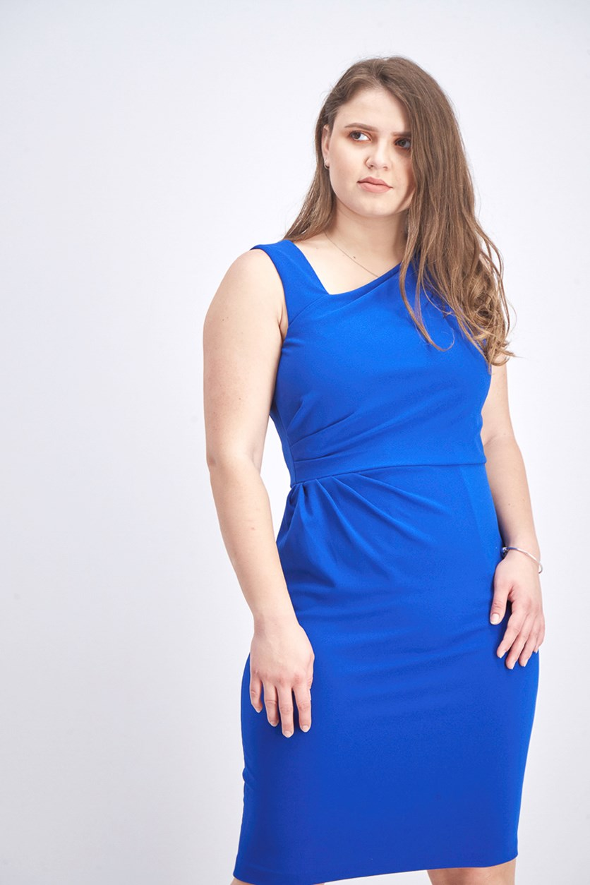 Women's Sleeveless Dress, Blue