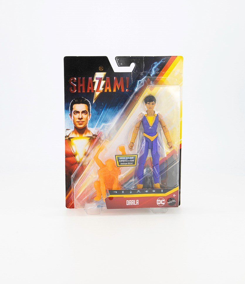Shazam Darla Action Figure, Purple