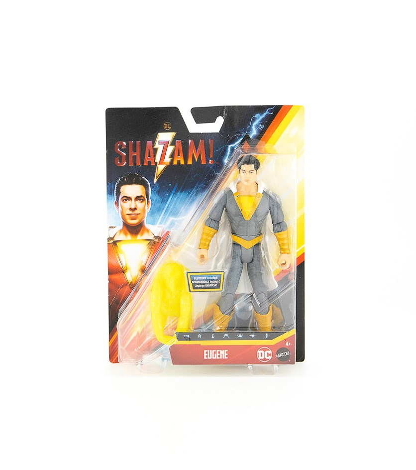 Shazam Movie Eugene Action Figure, Grey