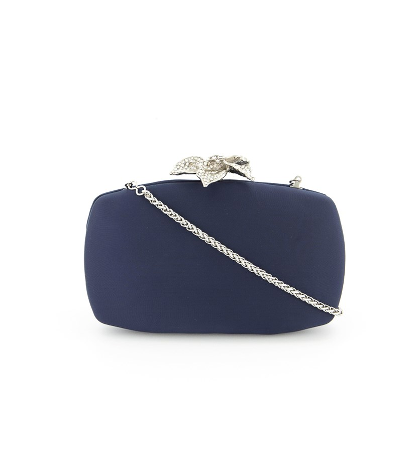 Women's VIda Clutch Bag, Navy