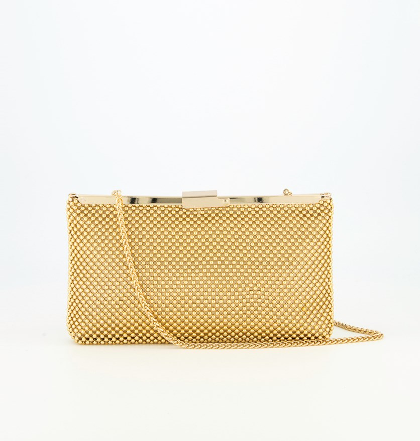 Women's Oakley Clutch Bag, Gold