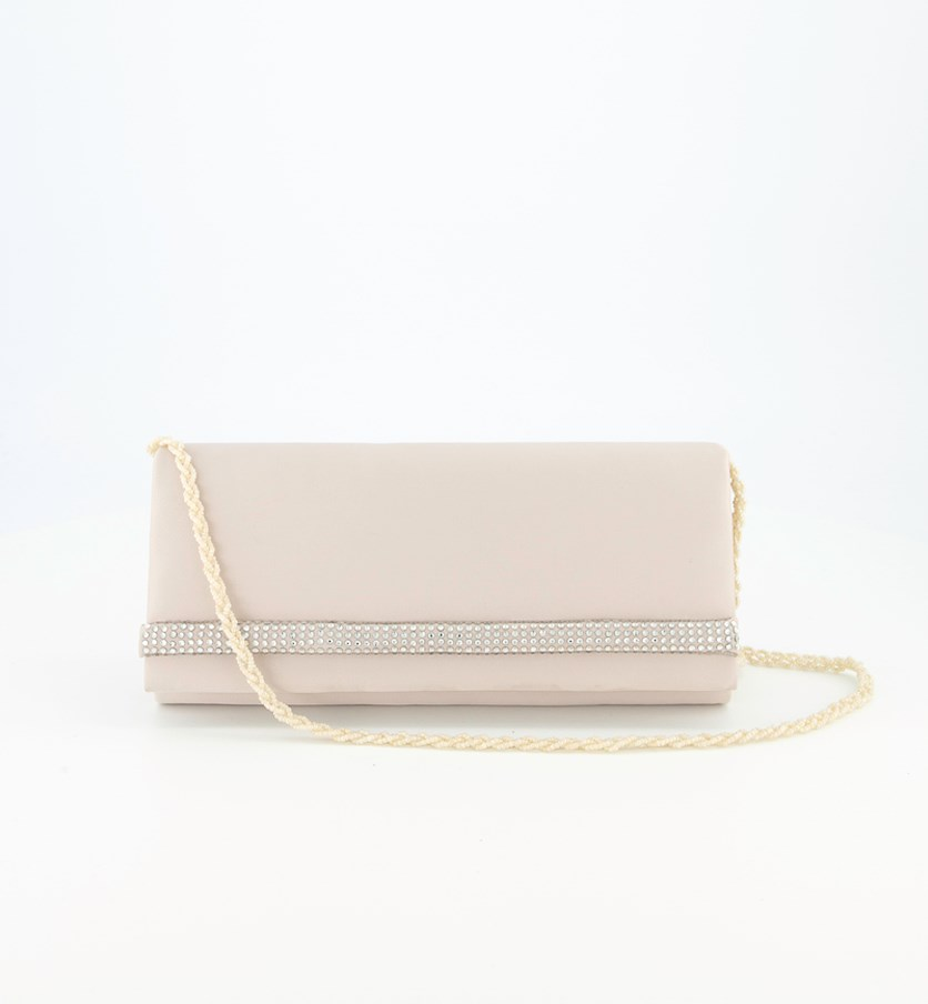 Women's Embelished Slingbag, Oyster Blush