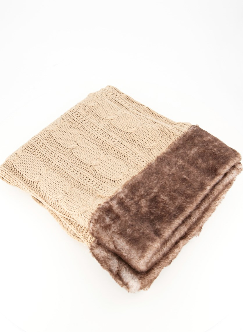 Knitted Trow, Taupe