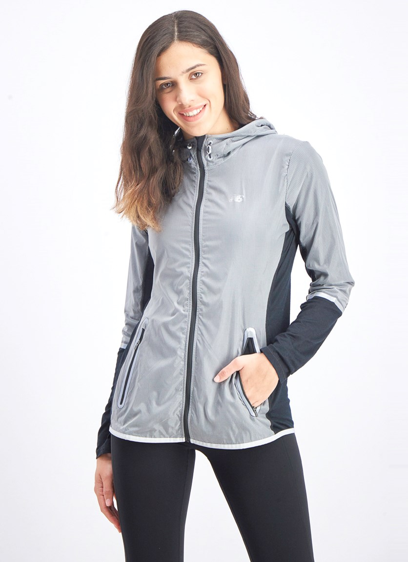 Women's Performance Merino Hybrid Jacket, Silver