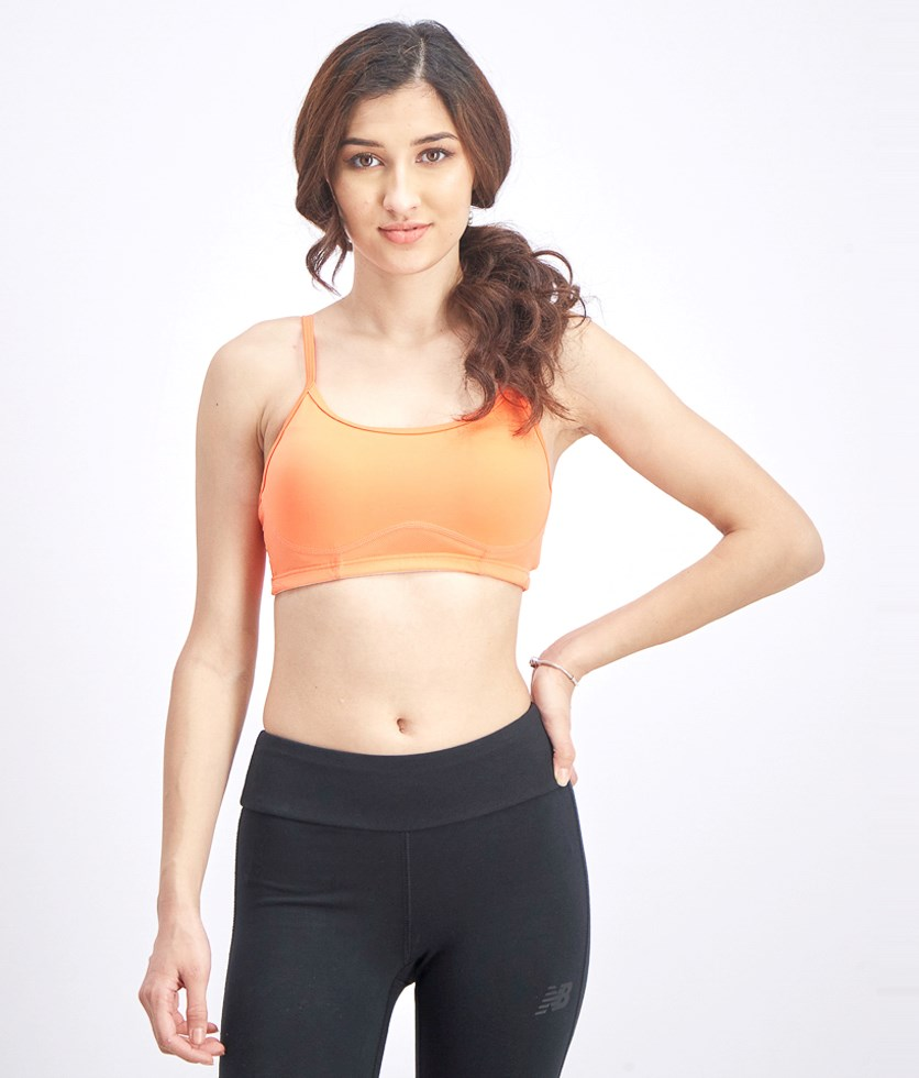 Women's Top Sports Bra, Orange