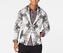 American Rag Men's Folklore Cardigan, Slate Heather