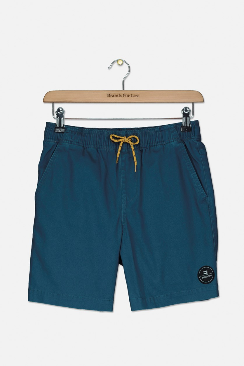 Kid's Boys New Order Elastic Short, Deep Sea