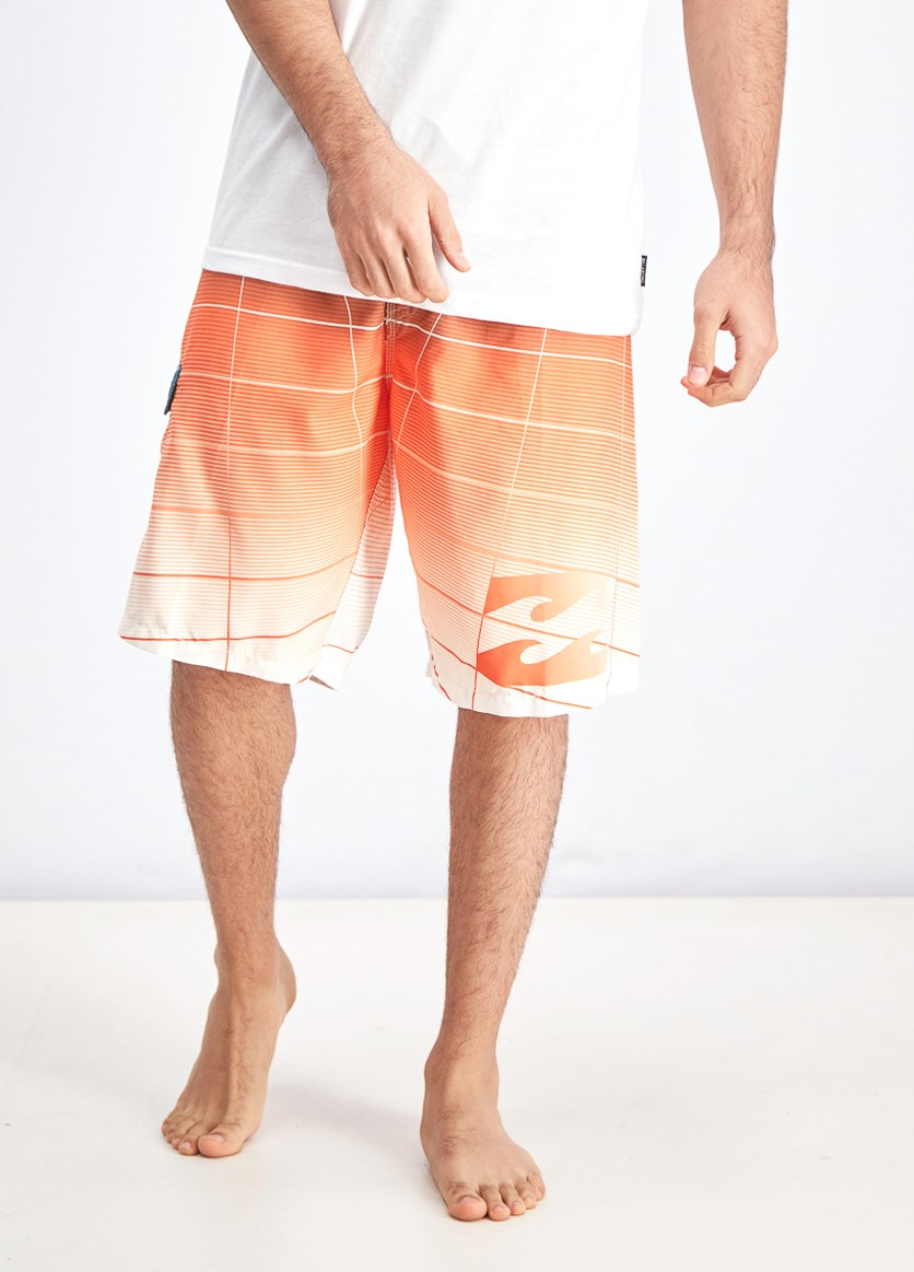 Men's Fluid Board Shorts, Tangerine