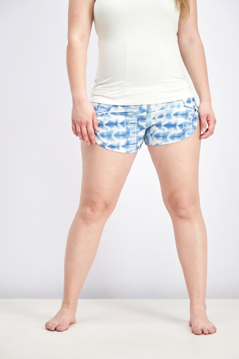 Women's Blue Nymph Board Short, Chambray