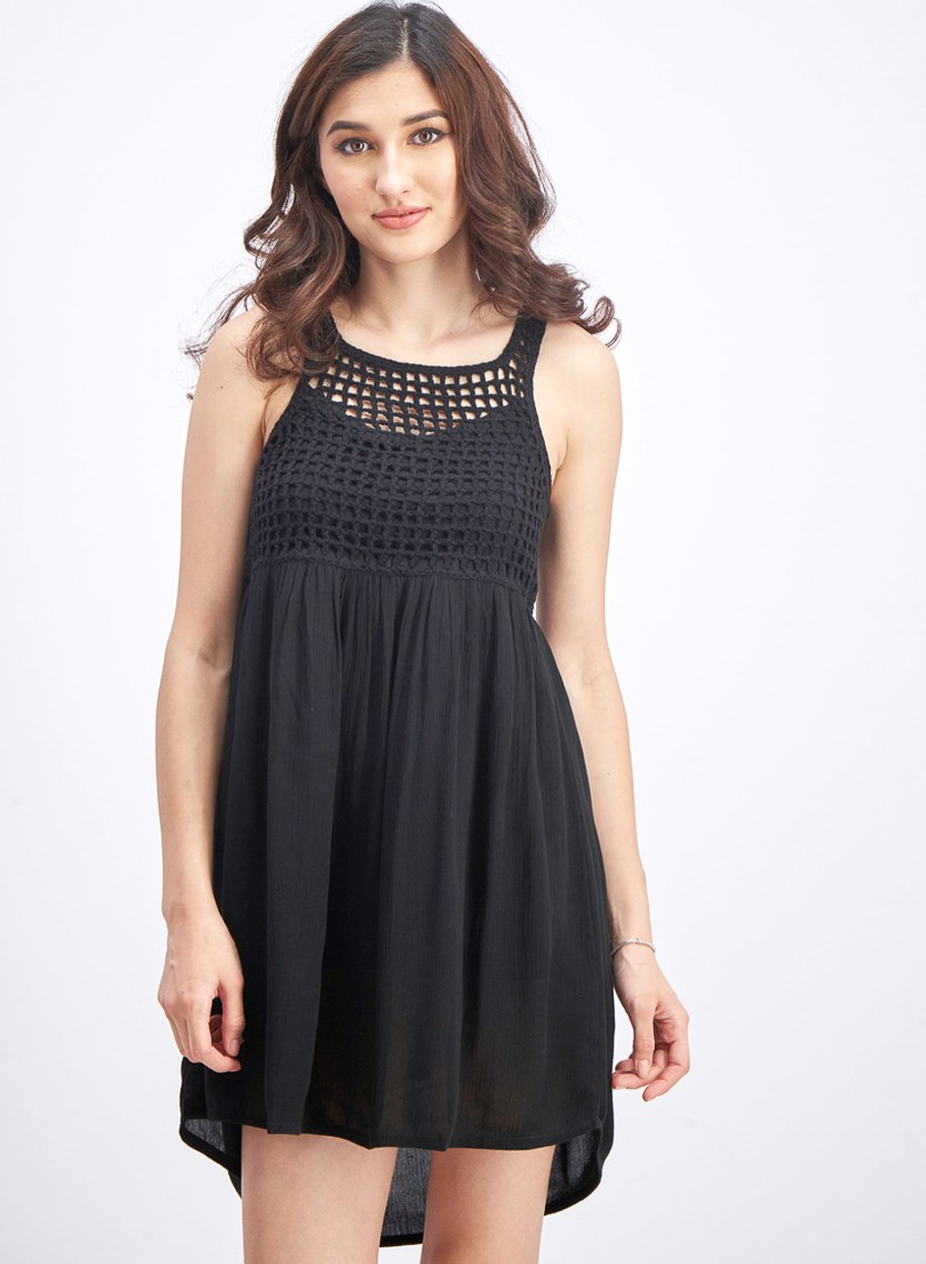 Women's Dark Sands Dress, Black