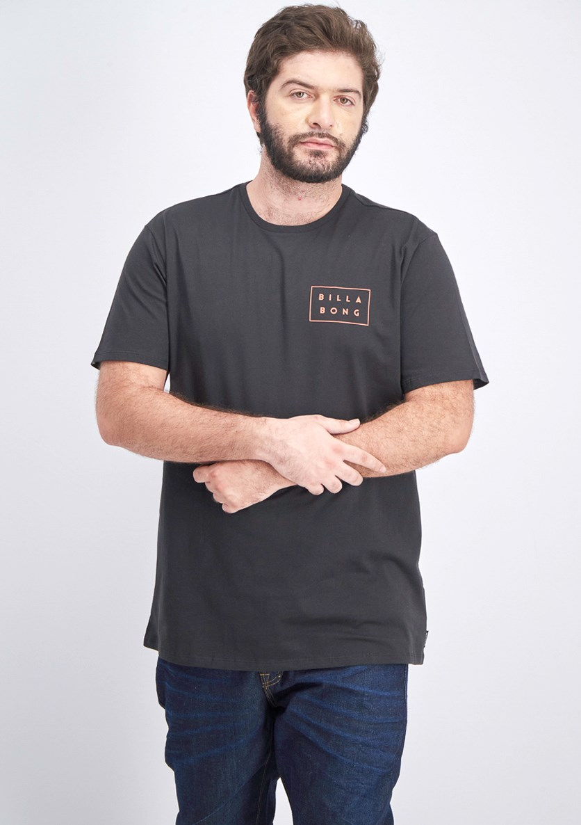 Men's Die Cut Tee, Black