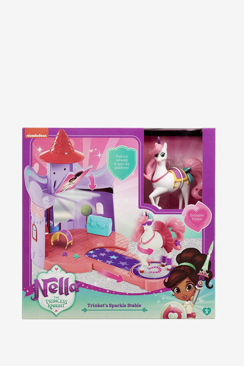 Nila Princess Knight Trunk Play Set, Pink