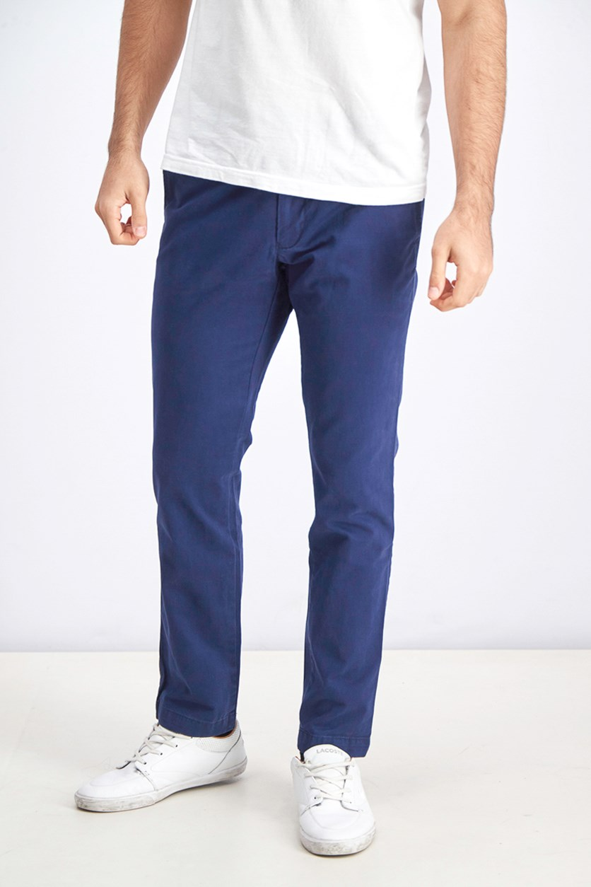 Men's Slim Fit Pants, Blue