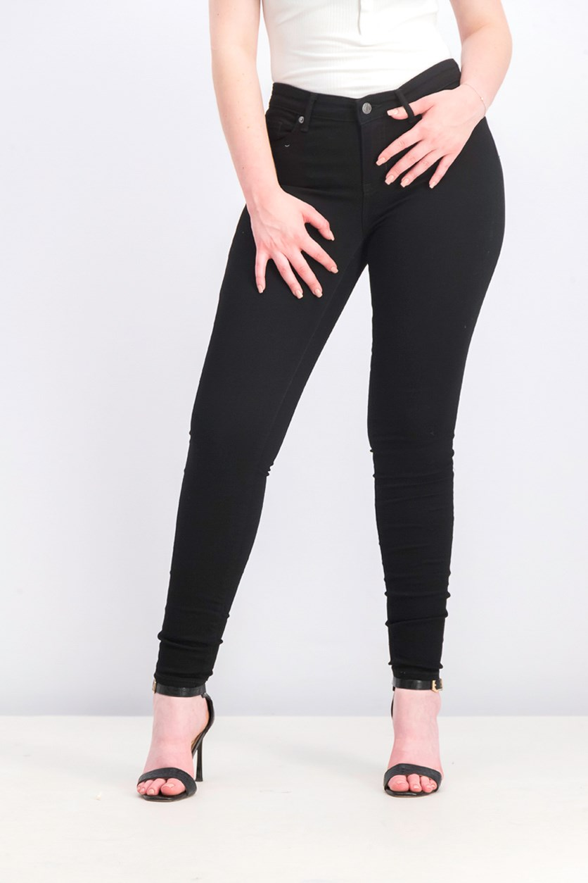 Women's Skinny Pants, Black